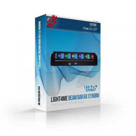 Light4me Beam BAR 6x12 RGBW