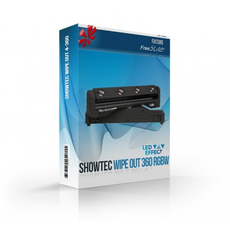 Showtec Wipe Out 360 RGBW