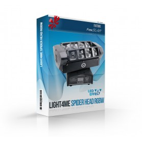 Light4me Spider Head RGBW