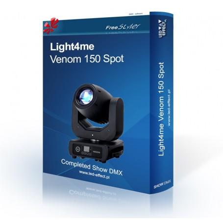 Light4me Venom Spot 150 SHOW DMX
