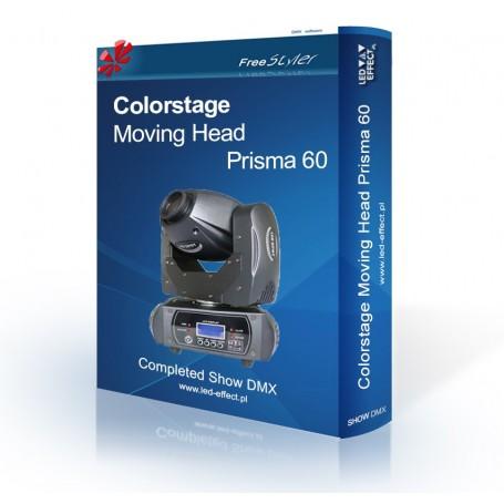 Colorstage Moving Head Prisma 60 SHOW DMX