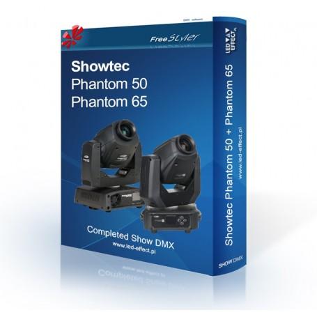 Showtec Phantom 50 + Phantom 65 SHOW DMX