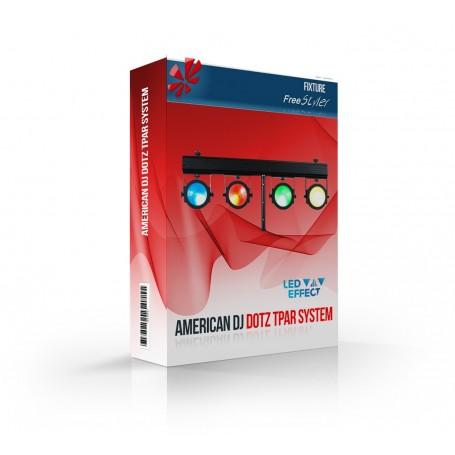 American DJ Dotz TPAR System