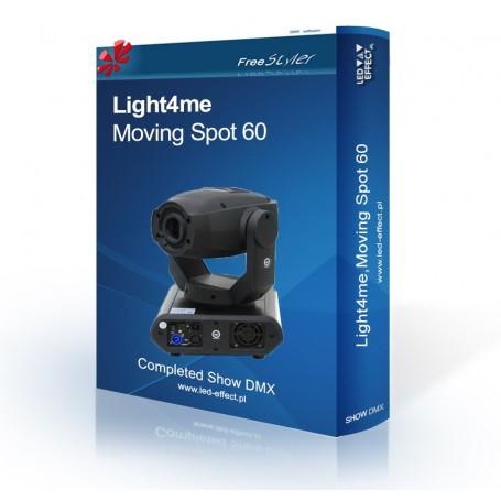 Light4me Moving Spot 60 - SHOW DMX