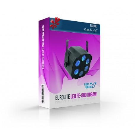 Eurolite LED FE-800 RGBAW DMX