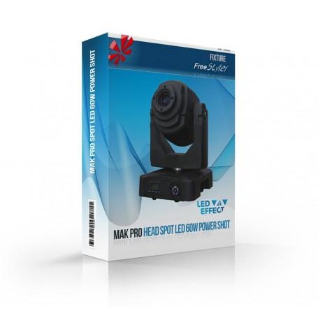 MAK Pro MOVING HEAD SPOT LED 60W
