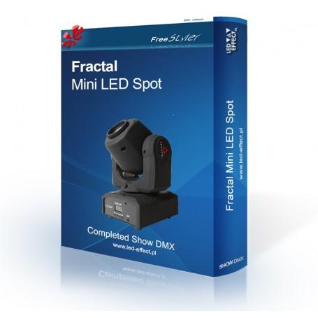 Fractal Mini LED Gobo Spot - SHOW DMX