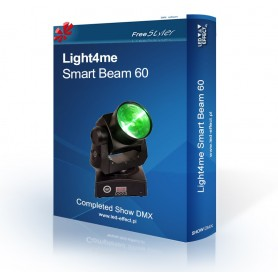 Light4me Smart Beam 60 - SHOW DMX