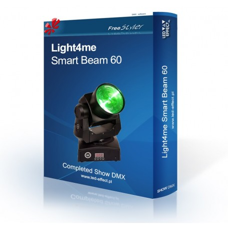 Light4me Smart Beam 60 - SHOW DMX
