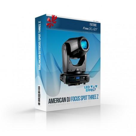 American DJ Focus Spot Three Z