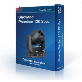 Showtec Phantom 130 Spot - SHOW DMX