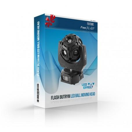 Flash Butrym LED BALL Moving Head 12x12W