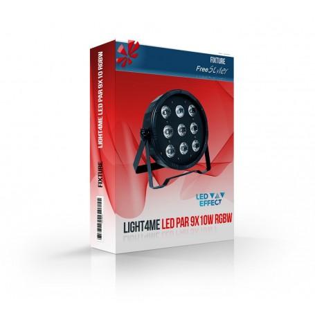Light4me PAR 9x10 RGBW (mkII)