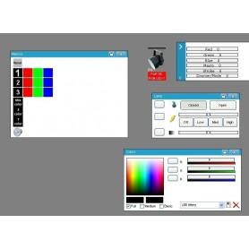 Indywidualne programowanie show dla PAR RGB