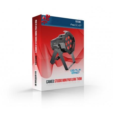 Cameo Studio Mini PAR Q 8W 7x8W