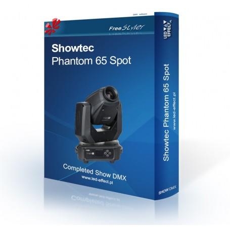 Showtec Phantom 65 Spot - SHOW DMX