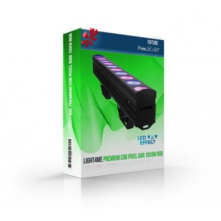Light4me PREMIUM COB PIXEL BAR 10x9W RGB