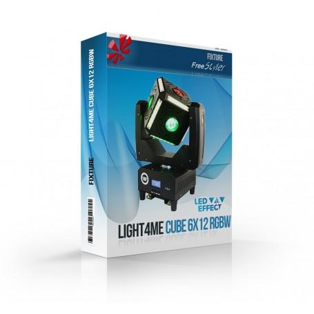 Light4me CUBE 6x12 RGBW
