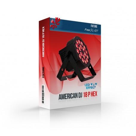 American DJ 18P HEX