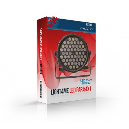 Light4me LED PAR 54x1 RGBW