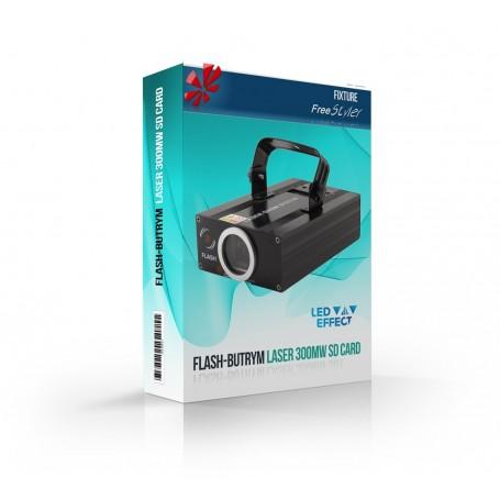 Flash-Butrym LASER 300mW SD CARD