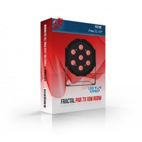 Fractal PAR LED 7x10 RGBW