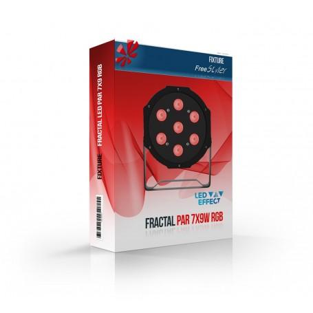 Fractal PAR LED 7x9 RGB