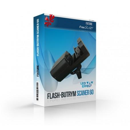 Flash LED Scaner 60