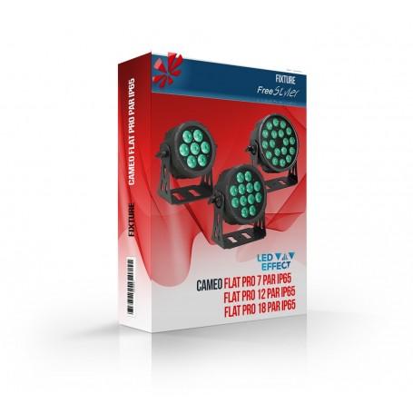 Cameo FLAT PRO PAR RGBWA IP65