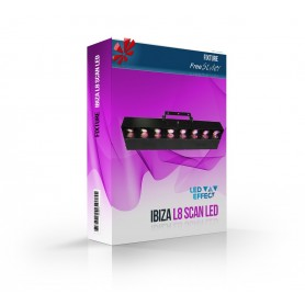 Ibiza L8SCAN LED