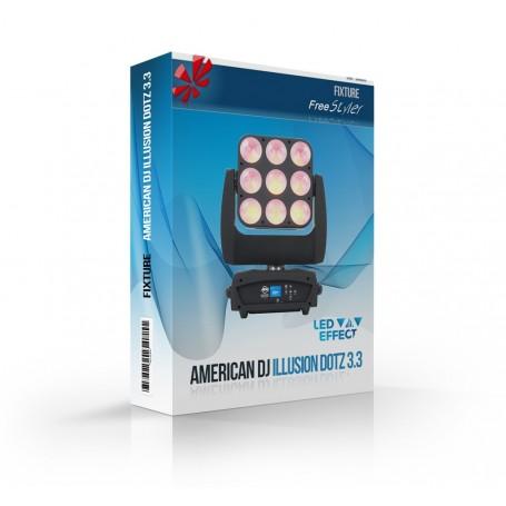 American DJ Illusion Dotz 3.3