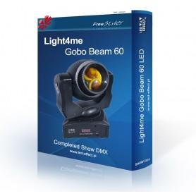 Light4me Gobo Beam 60 - SHOW DMX
