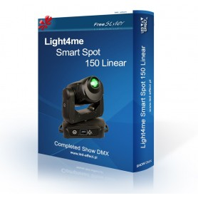 Light4me Smart Spot 150 Linear - SHOW DMX