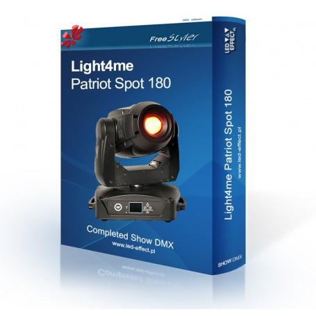 Light4me PATRIOT Spot / Beam 180 - SHOW DMX