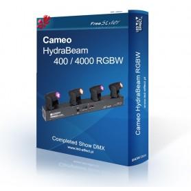 Cameo HydraBeam 400 / 4000 RGBW - SHOW DMX