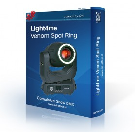 Light4me VENOM SPOT RING - SHOW DMX