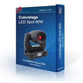 Colorstage LED SPOT 90W - SHOW DMX