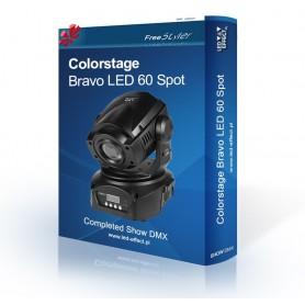 Colorstage Bravo LED 60 Spot - SHOW DMX