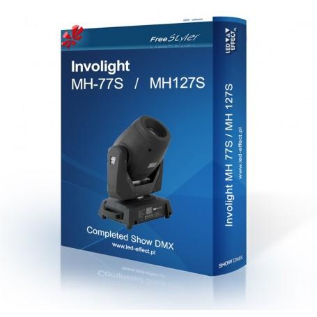 Involight MH 77S / MH 127S - SHOW DMX