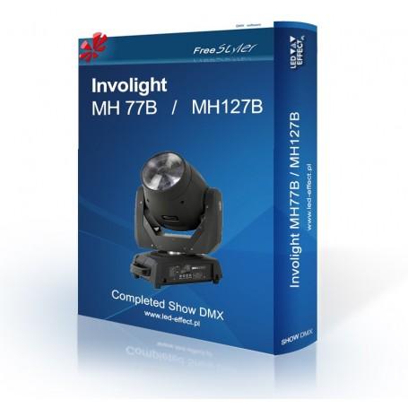 Involight MH 77B / MH 127B - SHOW DMX