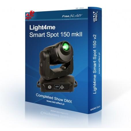 Light4me Smart Spot 150 mkII - SHOW DMX