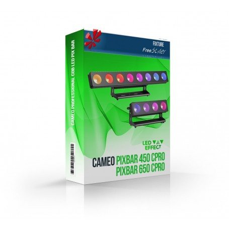 Cameo PIXBAR 450 CPRO / 650 CPRO