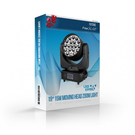 19pcs*15W Led Moving Head Wash Zoom