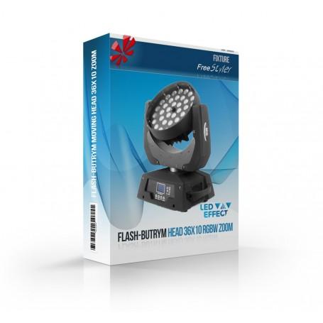 Flash-Butrym Moving Head 36x10W RGBW ZOOM