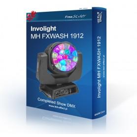 Involight MH FXWASH 1912 - SHOW DMX