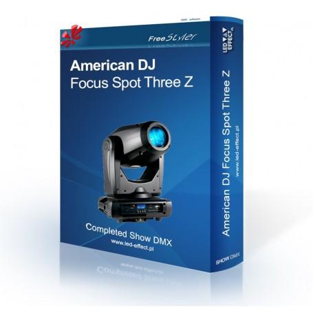 American DJ Focus ThreeZ - SHOW DMX