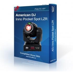 American DJ Inno Pocket Spot LZR - SHOW DMX