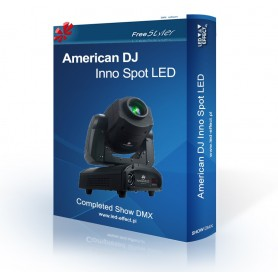 American DJ Inno Spot LED - SHOW DMX