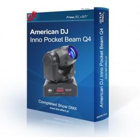 American DJ Inno Pocket Beam Q4 - SHOW DMX