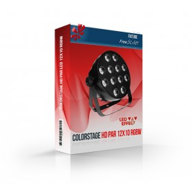 Colorstage HD PAR LED 12x10 RGBW
